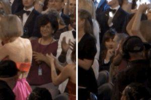 """11. Taylor emocionada al escuchar que Ed Sheeran ganó en la categoría """"Mejor canción"""" Foto:Vía Twitter"""
