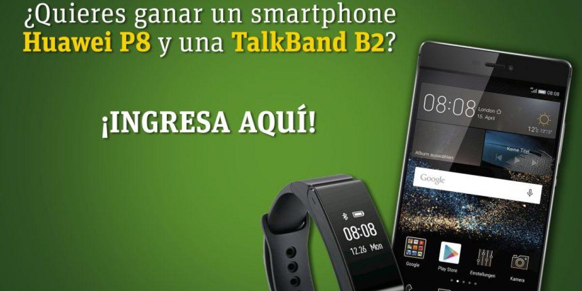 PROMO. Gana un smartphone Huawei P8 y una Talkband B2