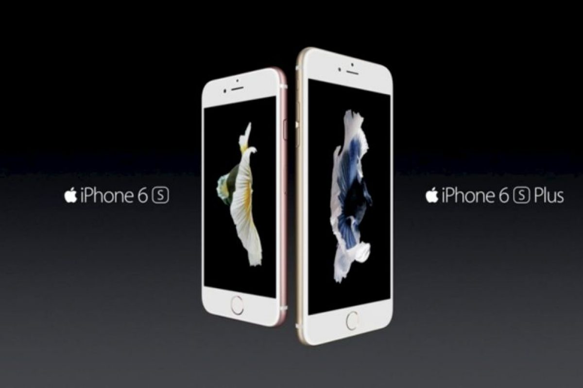 Apple con el iPhone 6s y iPhone 6s Plus. Foto: Apple