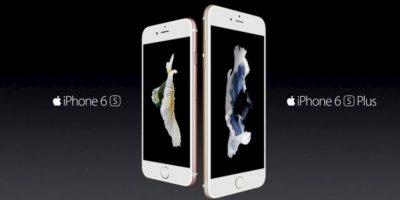 Apple con el iPhone 6s y iPhone 6s Plus. Foto:Apple