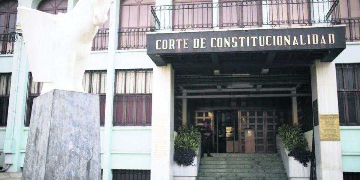 Así marcha el proceso de elección de la nueva Corte de Constitucionalidad