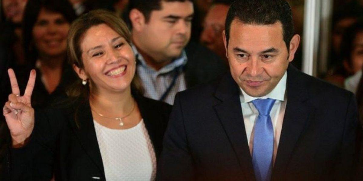 El antes y después de la esposa de Jimmy Morales, Patricia Marroquín de Morales