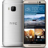 HTC con el HTC One M9. Foto:HTC
