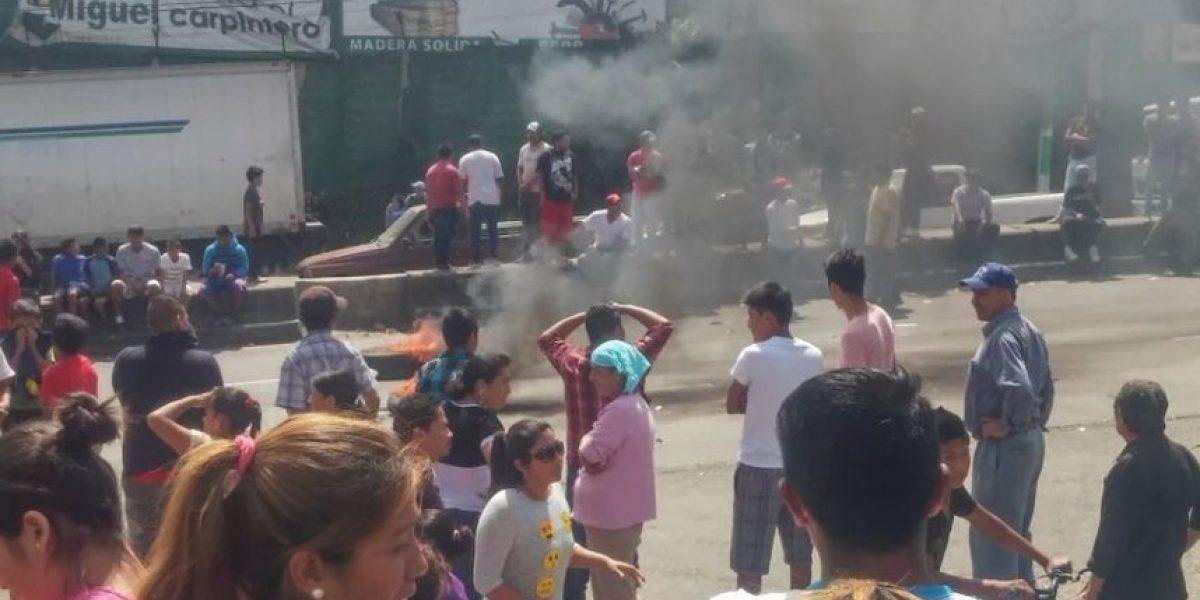 Protesta sube de tono y gobierno acciona por primera vez