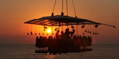 Foto: Dinner in the Sky Guatemala