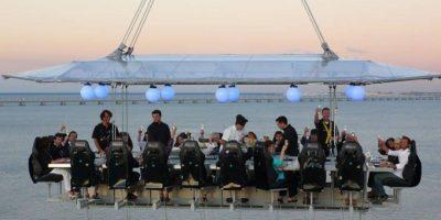 Foto:Dinner in the Sky Guatemala