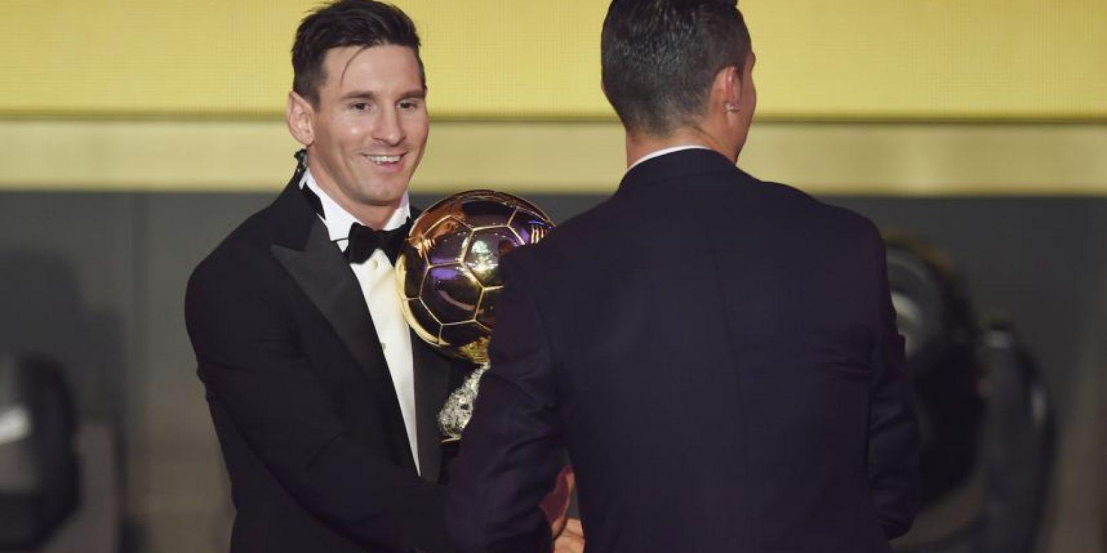 Lionel Messi marca un gol cada 114 minutos Foto:Getty Images