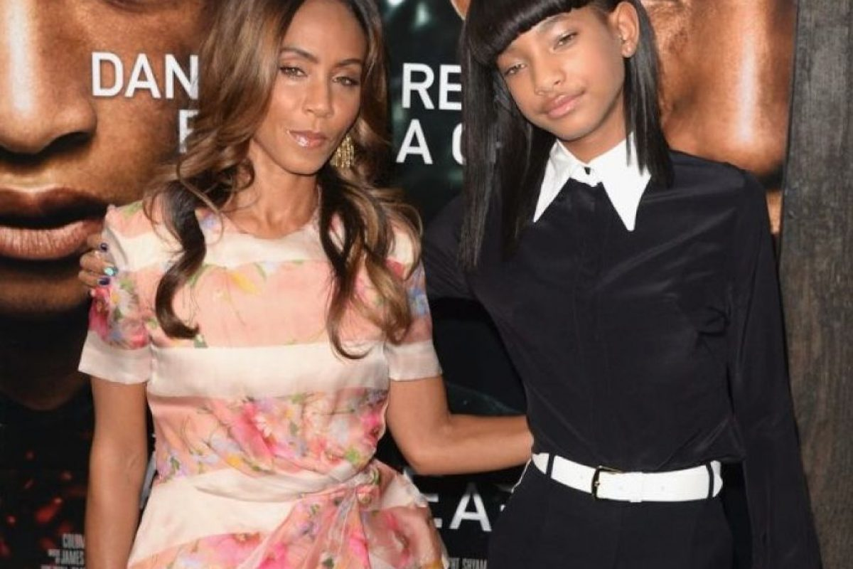 Jada Pinkett y Willow Smith Foto: Getty Image