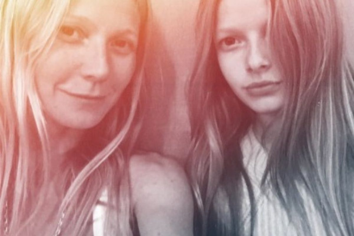 Gwyneth Paltrow y Apple Foto: Instagram