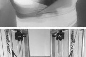 """Esta es la imagen que compartió Michelle McCool del entrenamiento de """"Taker"""" Foto:Vía instagram.com/mimicalacool"""