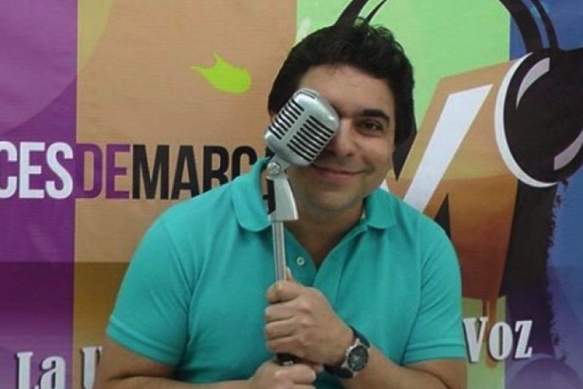 """El actor venezolano Frank Carreño prestó su voz para """"Pinky"""" Foto:vía instagram.com/frankcarrenovoz"""