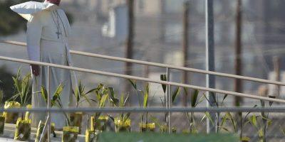 El Papa visitó por primera vez México el 12 de febrero. Foto:AFP