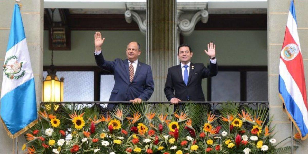 Mandatarios de Costa Rica y Guatemala buscarán fortalecer el Sica