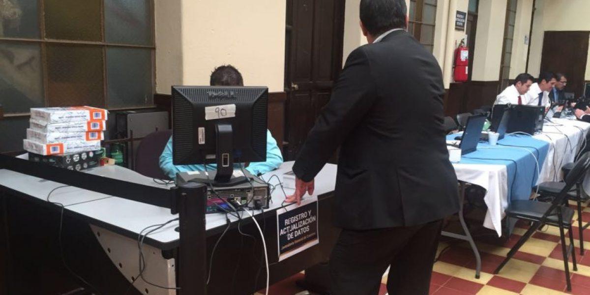 La CGC realiza actualización del personal del Congreso por plazas fantasma