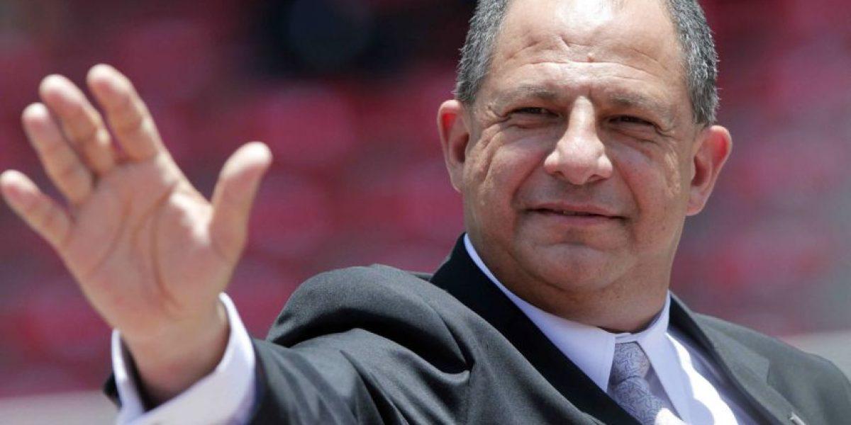 Visita de Luis Guillermo Solís, presidente de Costa Rica, a Guatemala, febrero 2016