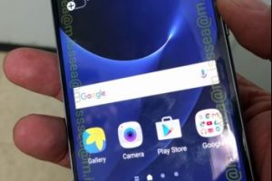 Así luciría la pantalla del Samsung Galaxy S7. Foto:Vía androidauthority.com