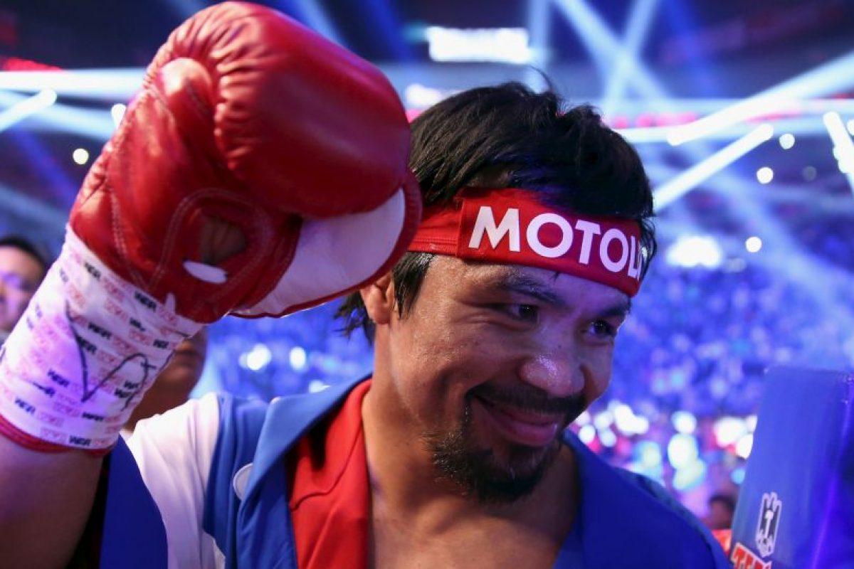 Se rumora que el combate contra Timothy Bradley, del próximo 9 de abril, será el útimo de su carrera Foto:Getty Images
