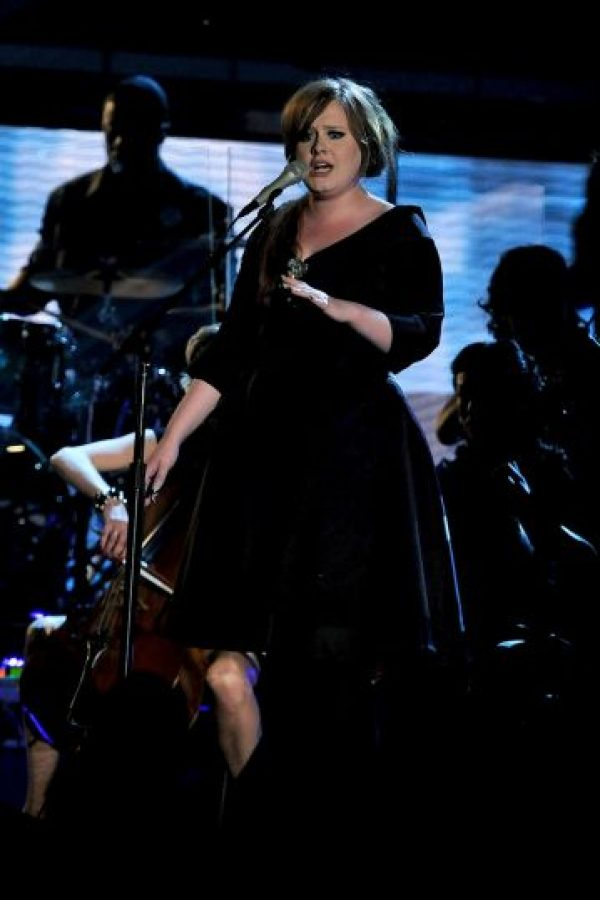 La cantante ganó dos premios: Foto:Getty Images