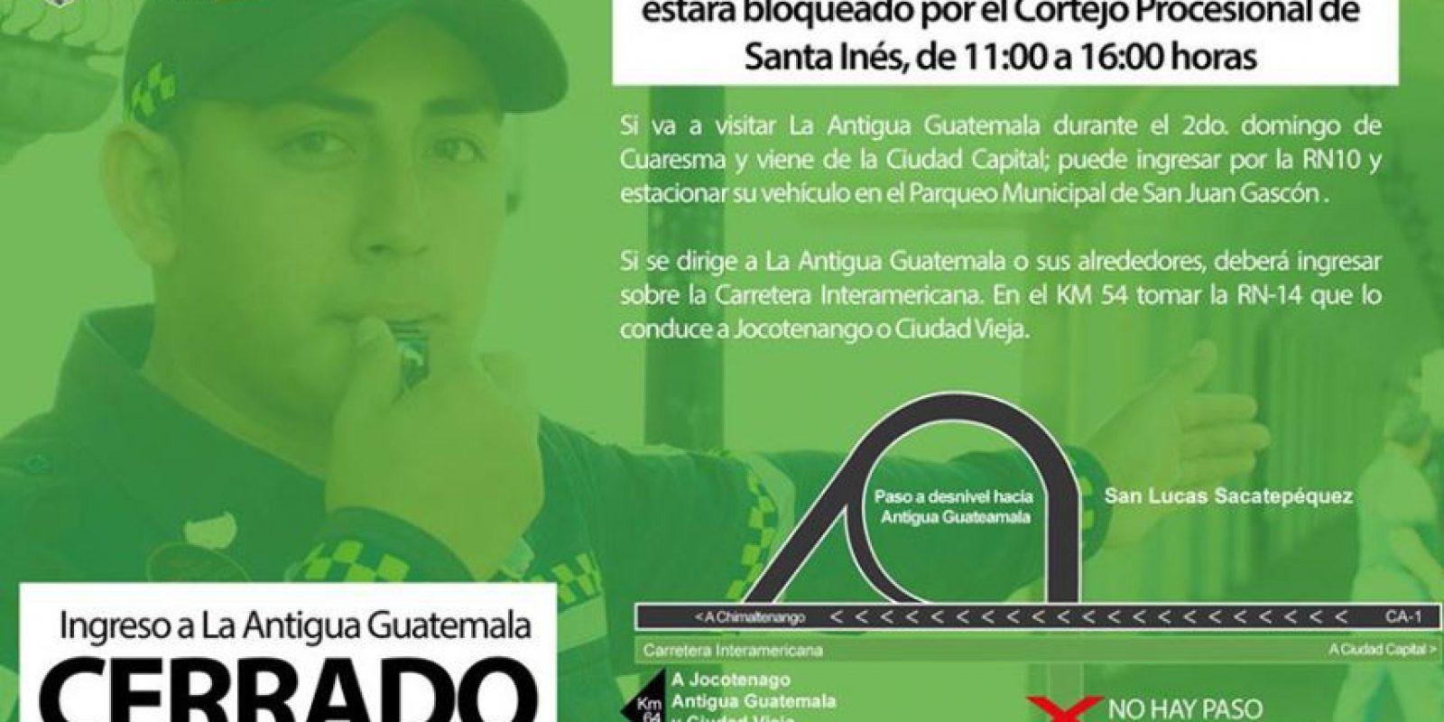 Foto:Facebook/Muni La Antigua Guatemala