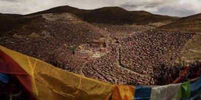 Kevin Frayer. Asamblea Bliss Darma, en el Tibet. Foto:worldpressphoto.org