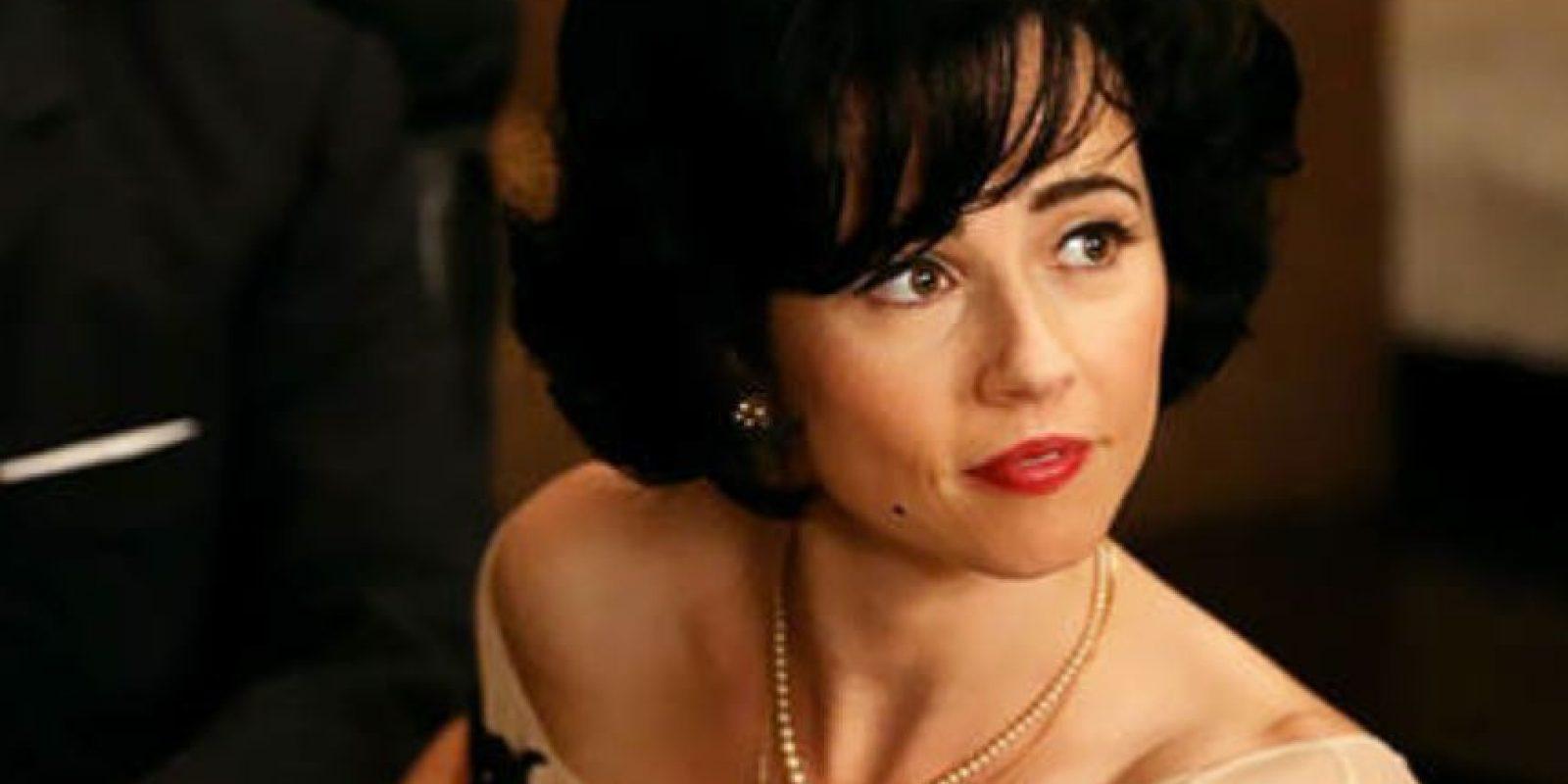 """Así se le vio en """"Mad Men"""", como Sylvia Rosen. Foto:vía AMC"""