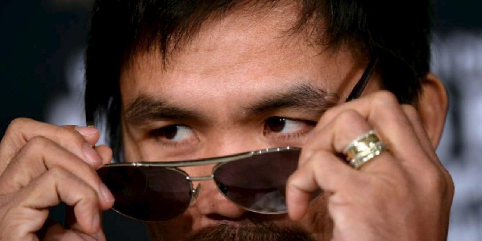 Es favorito en las encuentas para la presidencia de Filipinas Foto:Getty Images