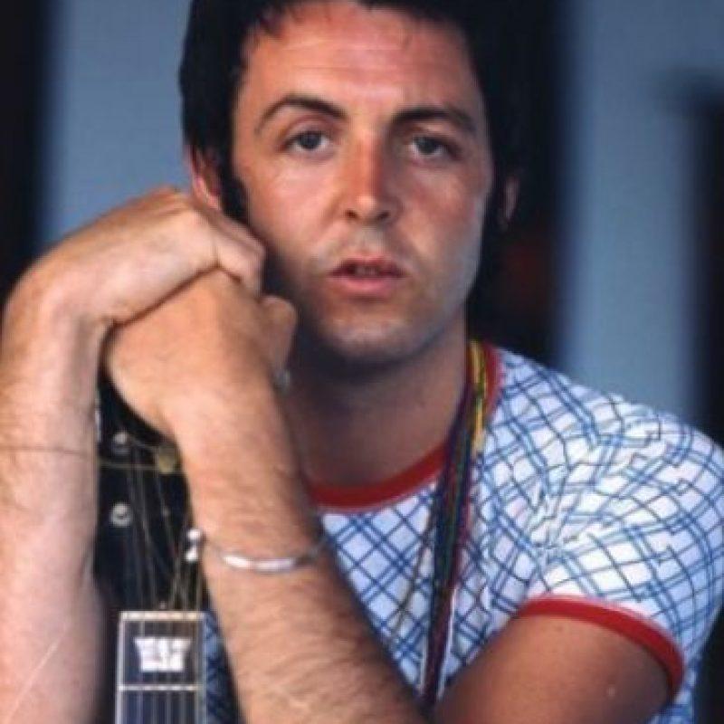 Así lucía el músico antes de que las arrugas llegaran a su rostro. Foto:Vía facebook.com/paulmccartney