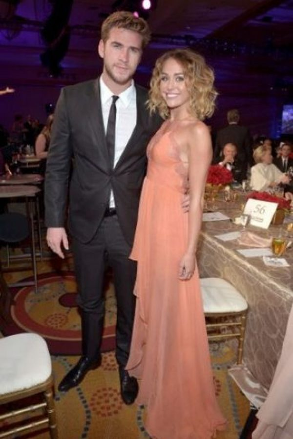 Así luce Miley con Liam Foto: Getty Images