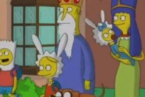 """Los Simpson"" al estilo de ""Hora de Aventura"" Foto:YouTube/Jim Jam"