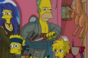 """""""Los Simpson"""" en modo anime Foto:YouTube/Jim Jam"""
