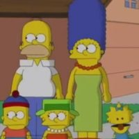 """Los Simpson"" al estilo de South Park Foto:YouTube/Jim Jam"