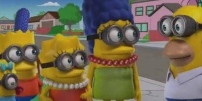 """Los Simpson"" como ""Minions"" Foto:YouTube/Jim Jam"