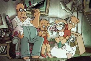 """""""Los Simpson"""" en el universo de las """"Trillizas de Belleville"""" Foto:YouTube/Jim Jam"""