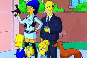 """""""Los Simpson"""" como los protagonistas de la serie """"Archer"""" Foto:YouTube/Jim Jam"""