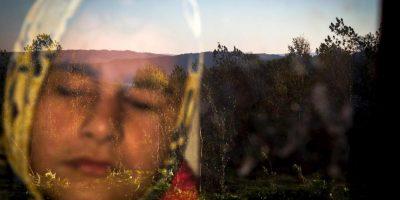Zohreh Saberi. Ella es Raheleh, quien nació ciega, pero que le gusta sentir el calor del sol al amanecer. Foto:worldpressphoto.org