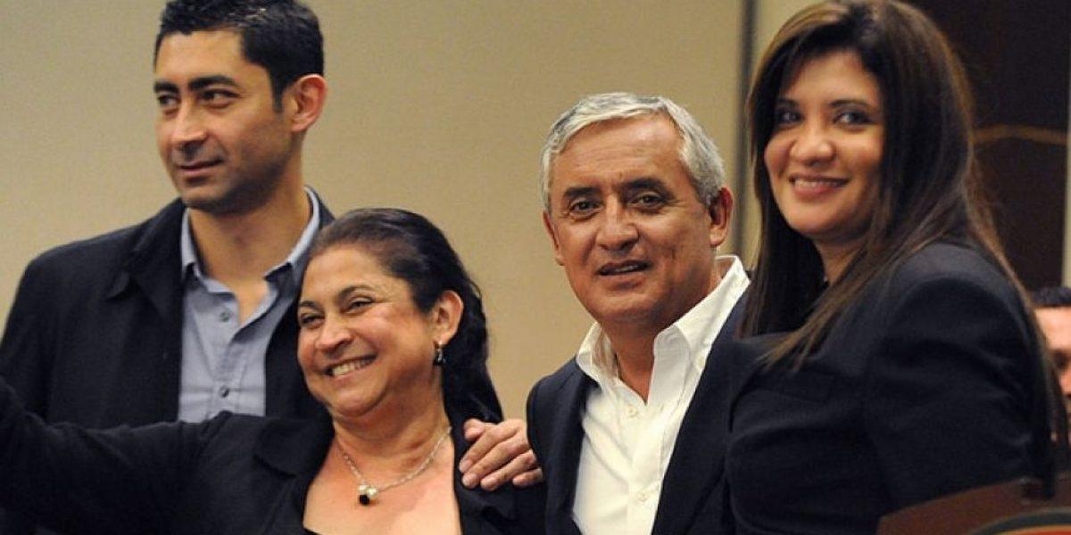 Juez de extinción ordena embargo a las cuentas de hija de expresidente Otto Pérez