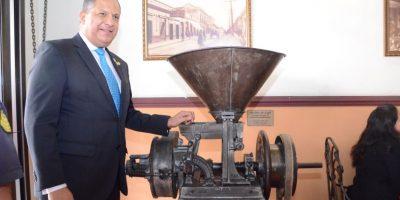 Luis Guillermo Solís, presidente de Costa Rica. Foto:José Castro