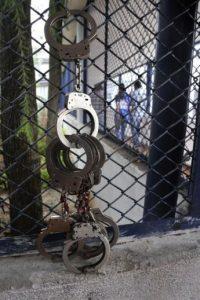 Reos se amotinaron en una cárcel de Puerto Barrios, Guatemala. Foto:AFP
