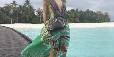 Paris Hilton celebró su cumpleaños 35 con diminuto bikini azul