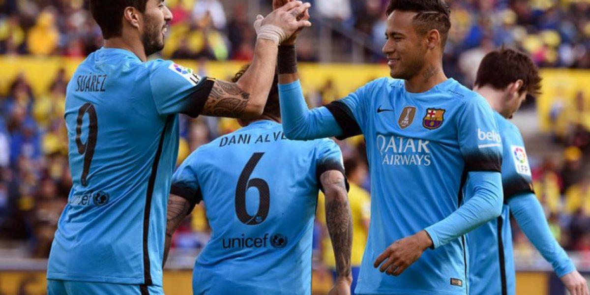 Resultado del partido Las Palmas vs. FC Barcelona, Liga Española 2016
