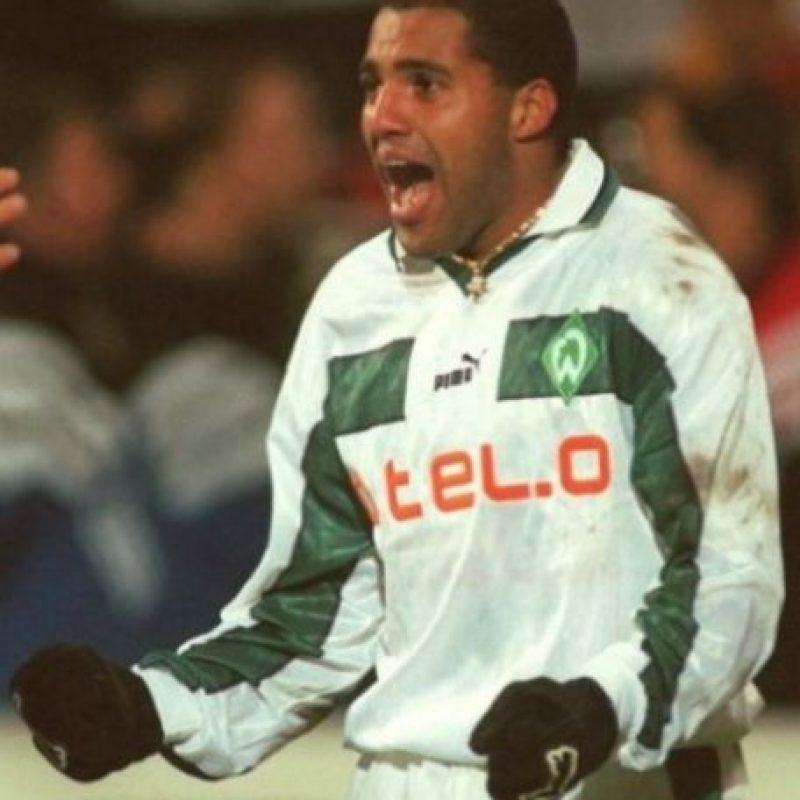 7- Ailton, ex futbolista brasileño. En su momento fue el fichaje más caro del Werder Bremen alemán. Foto:Getty Images