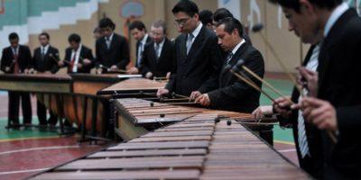 Guatemala conmemora el Día Nacional de la Marimba el 20 de febrero. Foto:AFP