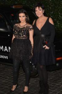 Kim Kardashian y Kris Jenner Foto:Getty Image