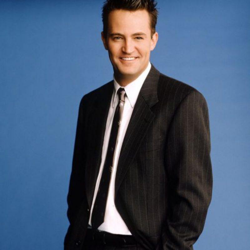 """Mathew Perry era """"Chandler"""". Foto:vía NBC"""