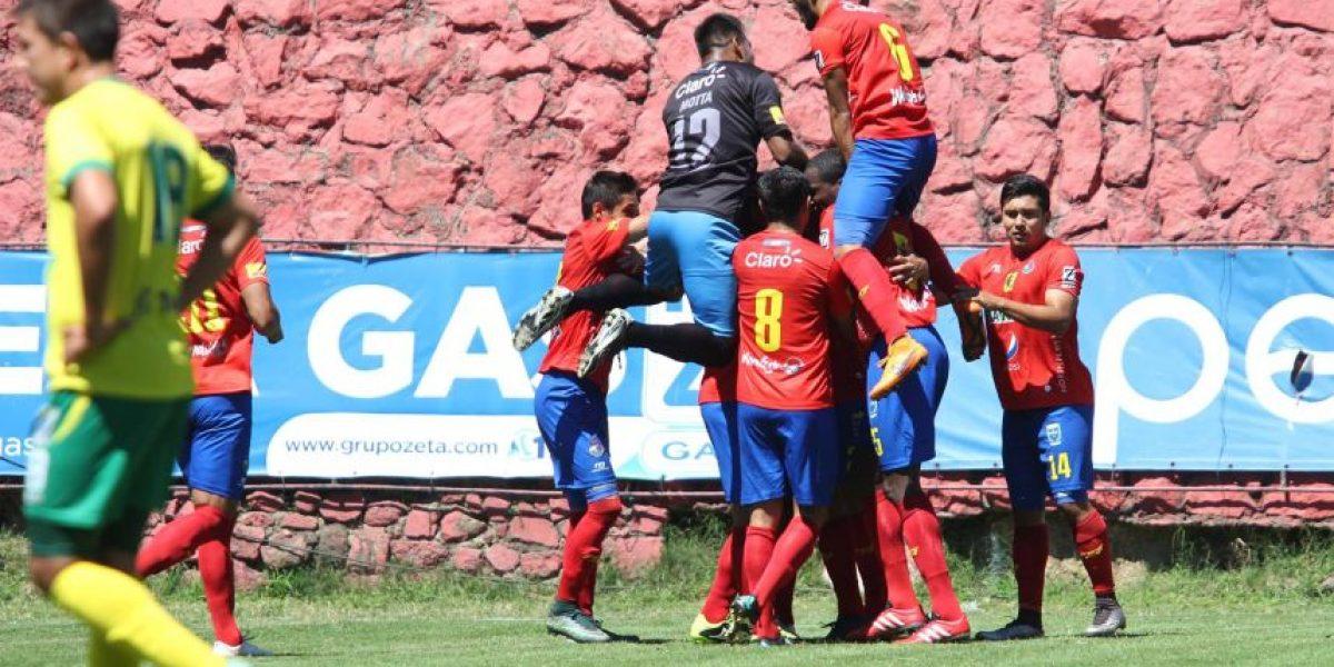 Resultado del partido Municipal vs. Petapa, Torneo Clausura 2016