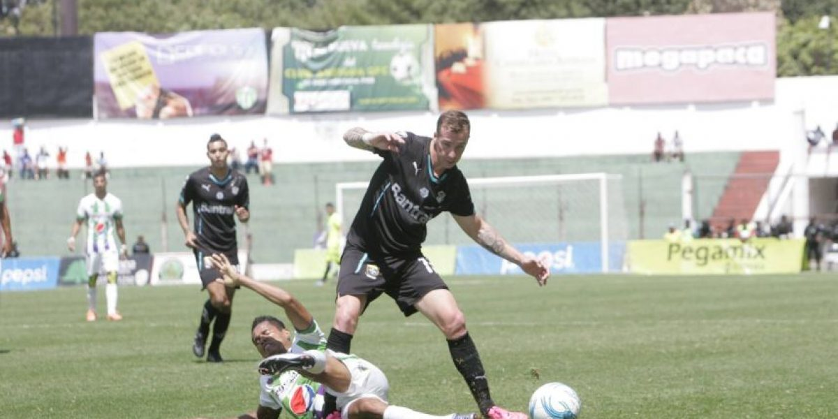 Resultado del partido Antigua GFC vs. Comunicaciones, Torneo Clausura 2016