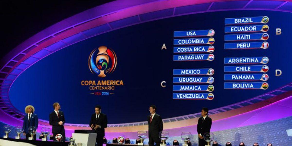 Grupos de la Copa América Centenario 2016