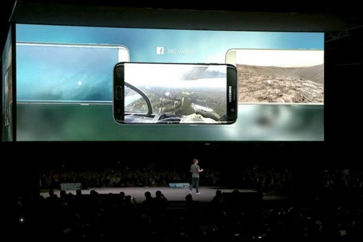 Así lucirán los videos de la red social. Foto:Samsung