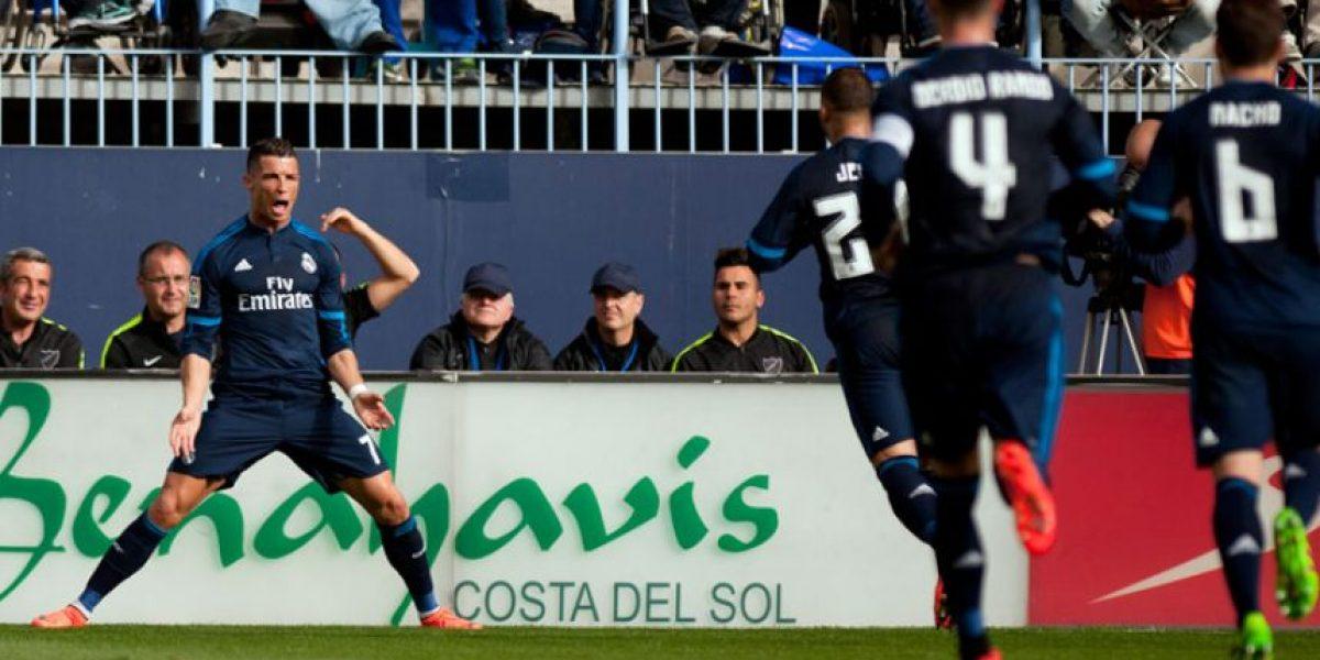 Video del gol de Cristiano Ronaldo en partido ante el Málaga