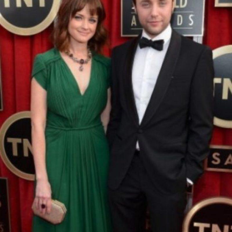 Alexis Bledel y Vincent Kartheiser. Foto:Getty Images